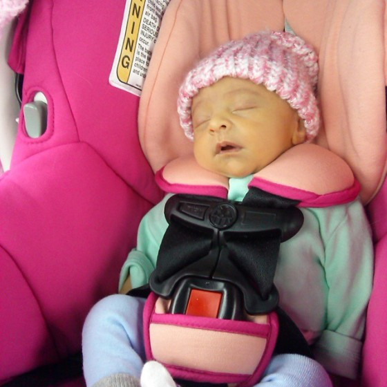 First Carseat Ride